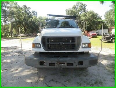 2003 Ford F-750 Crew Cab Dump Truck Used