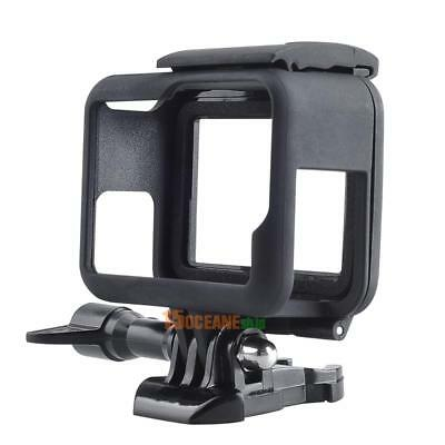Standard Frame Mount Protective Housing Case & Lens Cover for GoPro Hero 5