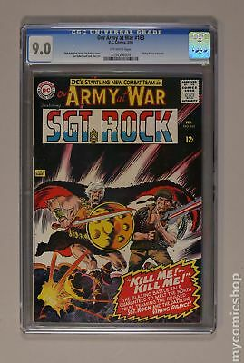 Our Army at War (1952) #163 CGC 9.0 0134306004