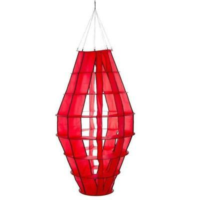 HQ INVENTO Moulin a vent a suspendre - Lampion géant rouge