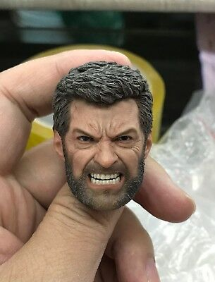 ELEVEN custom Wolverine 2.0 angry damage version 1/6 figure HEAD ONLY