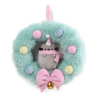 GUND Pusheen the Cat Wreath Plush 26cm - Limited Edition