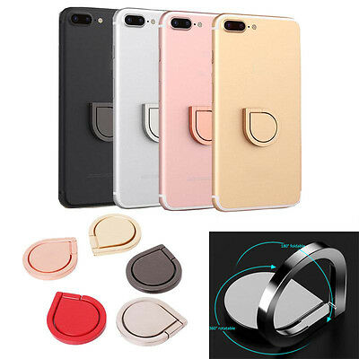 360 Metal Grip Finger Ring Universal Stand Holder for iPhone Cell Mobile Phone