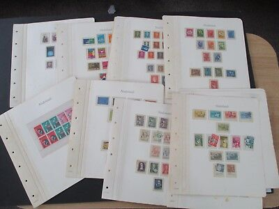 Netherlands - Excllnt Mint/used Collection - Early/mid Period - On Album Leaves