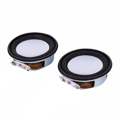 2pcs 40hm 3W Woofer Column Speaker Full-range Audio Stereo Internal Magnetic TR