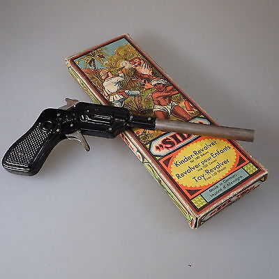 SIDI Typ 2 Kinder-Revolver Blech Made in Germany um 1930 (40033)