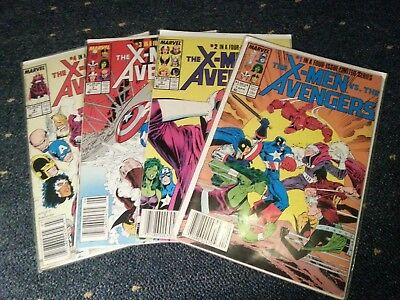 The X-Men vs The Avengers #1-#4 Limited Series