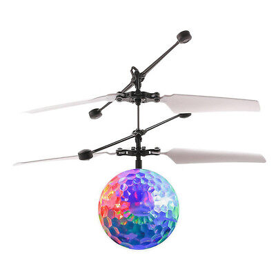 Flying RC Ball Led Colorful Light Aircraft HelicopterInduction Toy for Kids