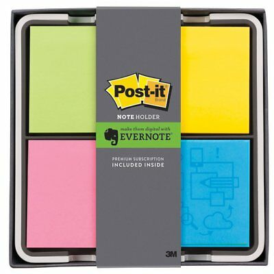 Post-it Note Holder, Evernote Collection, Quad (NH-654-EV4) , New, Free Shipping
