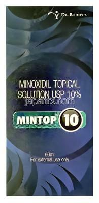 Mintop10 (Minoxidil Topical Solution USP 10%) for Hair Loss - 60ml Free Shipping