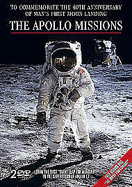 The Apollo Missions (DVD, 2009, 2-Disc Set) NEW AND SEALED
