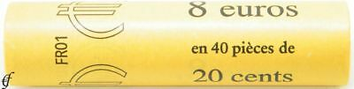 Frankreich Rolle 20 Cent 2008