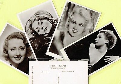 PICTUREGOER - MAIN Series 1930s Film Star Postcards #584 to #628 [Cinema/Movie]