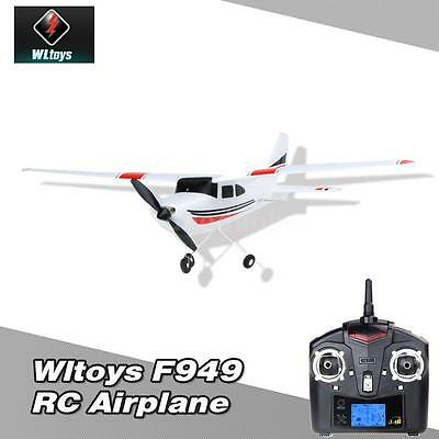 Original Wltoys F949 2.4G 3Ch RC Airplane Fixed Wing Plane Outdoor toys UFO Gift