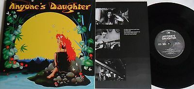 LP Anyone's Daughter Anyone's Daughter (Re-Release) Tempus Fugit 80511- Sealed