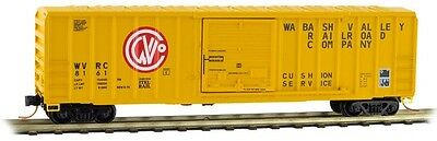 Micro-Trains Line Wabash Valley 50' Box Car Z Scale Freight Cars 51000320