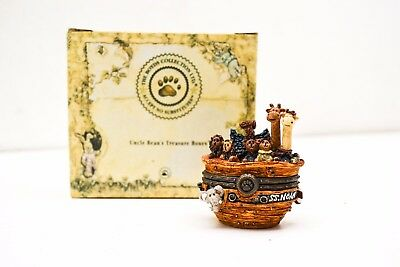 Boyds Bears & Friends Uncle Beans Treasure Boxes Surf's Up! Noah's Ark