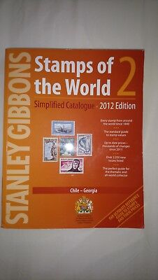 Stanley Gibbons, stamps of the world Vol 2, 2012 ed