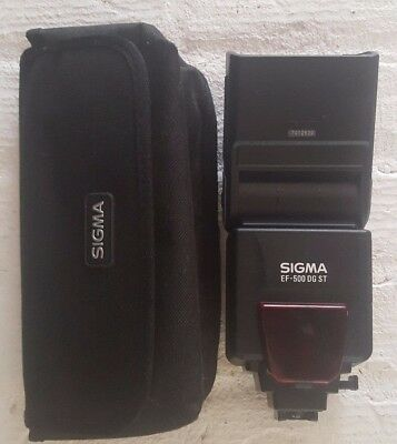 Sigma EF-500 DG ST Shoe Mount Flash for  Canon, Nikon, Pentax, Sony and Sigma