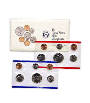 1992 United States US Mint Uncirculated Coin Set SKU1398