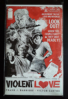 Violent Love # 1 Image Comics.  Bagged/boarded