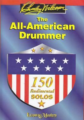 Noten The All american Drummer R. Sakal Charley Wilcoxon Ludwig music 10300202