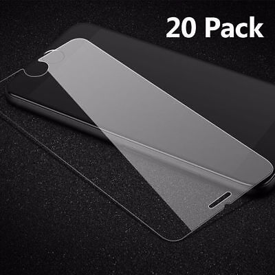 For iPhone 8 Plus Smooth Tempered Glass Screen Protector Ultra Clear Film Guard
