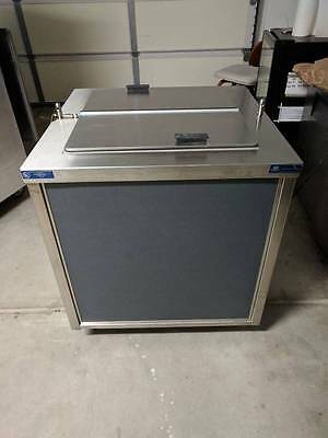 Ice Cream dipping holding cabinet freezer