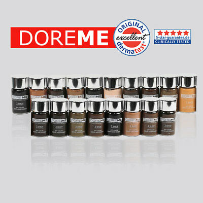 US SELLER  Doreme 2 Shot Manual Permanent Makeup Pigment Ink for Microblading