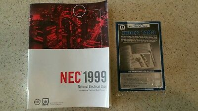 1999 Nec National Electrical Code Book & Index Tabs