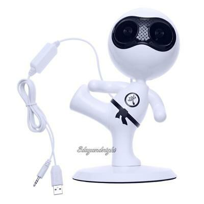 Mini USB Powered 3.5mm Stereo Audio Computer Speaker for Desktop Laptop Notebook