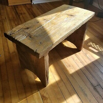 Rustic antique Bench/Stool
