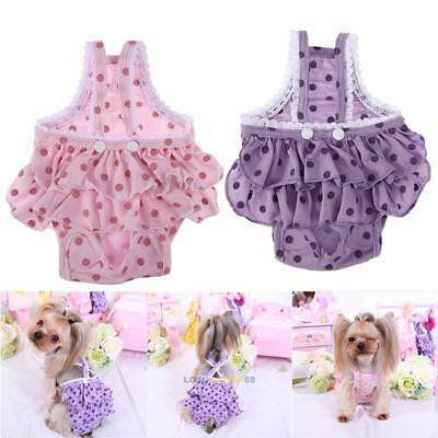 Pet Dog Puppy Diaper Pants Physiological Sanitary Short Panty Cotton Underwear