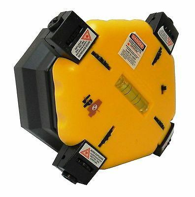 LASER PERFECT 4-Way Laser Level, Horizontal and Vertical