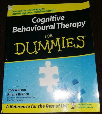 Cognitive Behavioural Therapy for Dummies book CBT mood psychology mental health