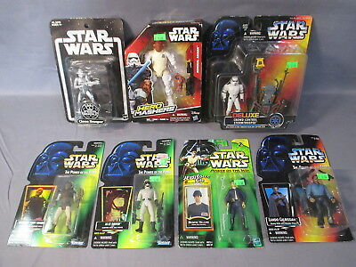 Star Wars Lot CLONE TROOPER STORMTROOPER LANDO SKIFF BESPIN GUARD Action Figures