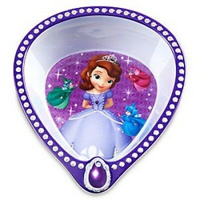 Disney Sofia The First Mealtime Plastic/plate Bowl