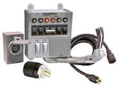 Portable Generator Power Transfer Switch Kit