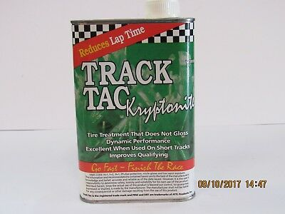 Go Kart Racing Tire Prep - Track Tac KRYPTONITE (Quart)