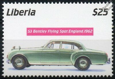 1962 BENTLEY S3 FLYING SPUR GB Mint (MNH) Automobile  Car Stamp (2001 Liberia)