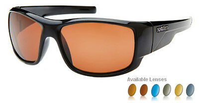 Spotters Sunglasses -  Droid Gloss Black Frame (Glass Lens)
