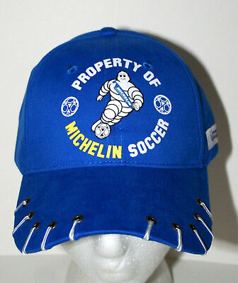 Michelin Man Rubber Tire Car Trucker Property Soccer Baseball Cap Hat New OSFM