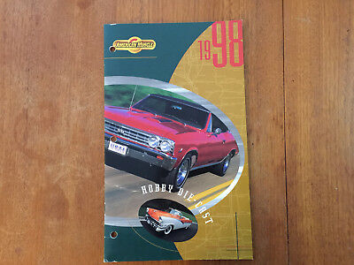 1998 Americian Muscle, Mosel Cars, Toy Catalog