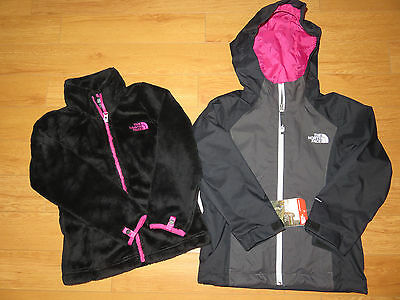 NWT Girls The North Face OSOLITA TRICLIMATE Jacket (Retail $150.00)