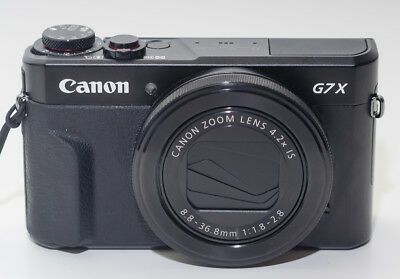 Canon PowerShot G7x Mark II 20.1MP 4.2x Optical Zoom Full-HD Digital Camera