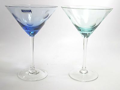 Set of 2 waterford crystal marquis polka dot wine glasses cad picclick ca - Waterford colored wine glasses ...