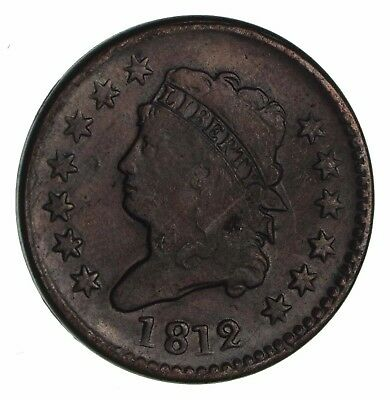 1812 Classic Head Large Cent - Circulated *1157
