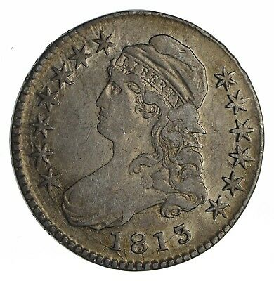 1813 Capped Bust Half Dollar - Circulated *1153