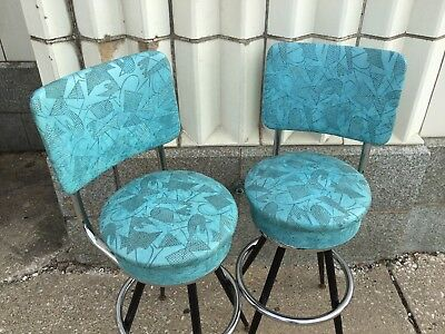 Vintage Mid Century Modern 60's Bar Stools  4 The Best