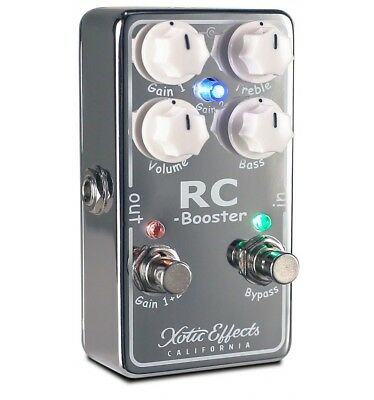 Xotic RC-Booster 2 - pédale boost guitare